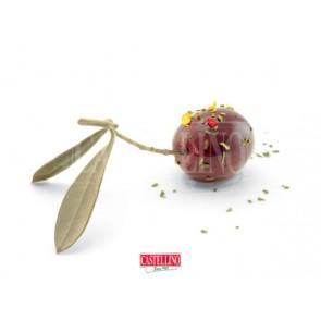 Olives Noires Marinées - Barquette de 1,9 kg