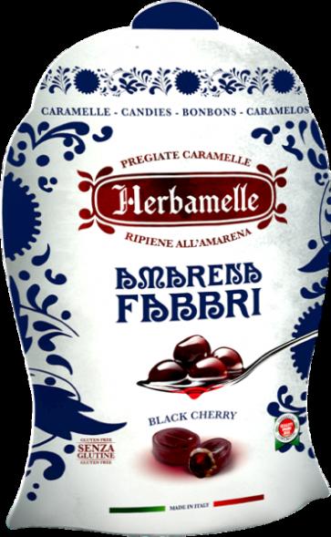 Bonbons Amarena Fabbri / Herbamelle - 75 gr x 8