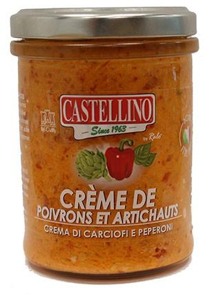 Crème d'Artichauts et Poivrons - 212ml