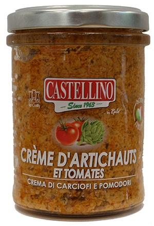 Crème d'Artichauts et Tomates
