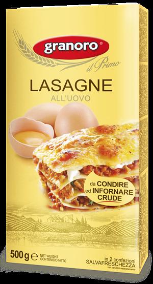 Lasagnes aux œufs - 500gr