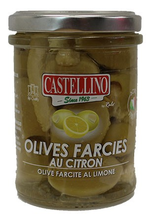 Olives Vertes Crème de Citron - 212ml x 6