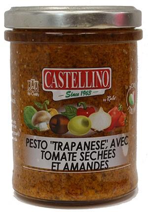 Pesto Trapanese avec tomates séchées et amandes