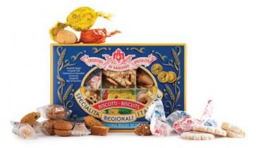 Assortiment de biscuits italiens régionaux - Lazzaroni - 210g x 10