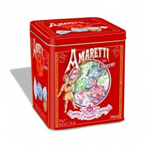 Amaretti moelleux - Lazzaroni - Boite métal - 75g x 12