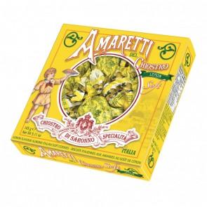 Amaretti moelleux citron 145 gr boite