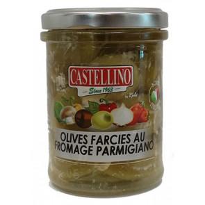 Olives Vertes Crème Parmesan