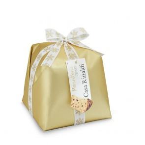 Panettone emballé doré - 750g par 6