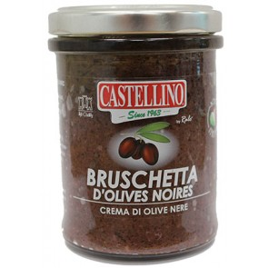 Tapenade d'olives Noires - 212ml